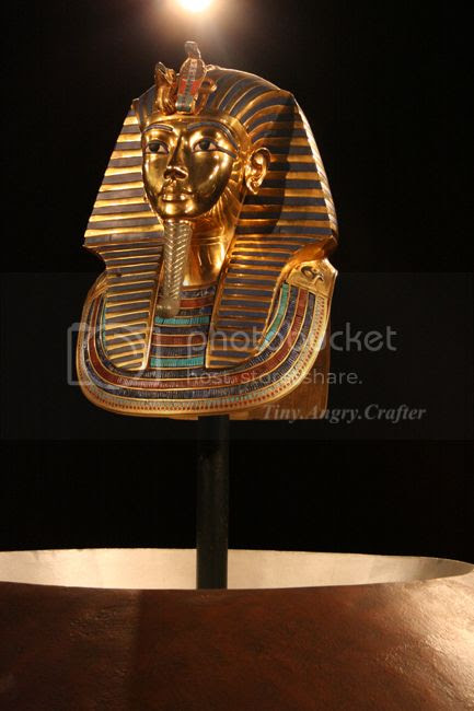 TinyAngryCrafter- King Tut Exhibit outing