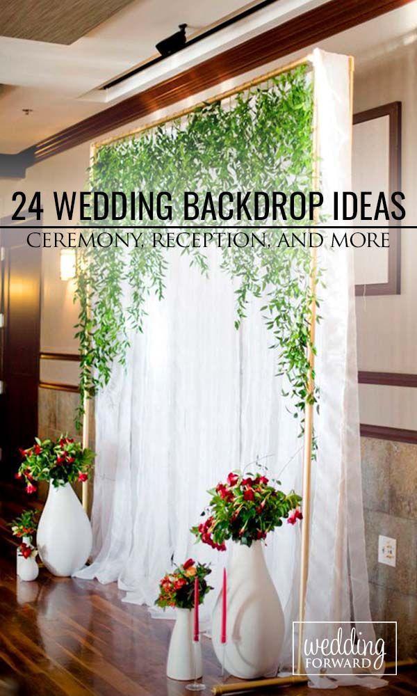 30 Wedding Backdrop Ideas For Ceremony Reception More 2470050