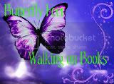 Butterfly Feet Walking On Books