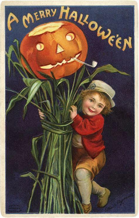 Vintage Jack O Lantern Image   The Graphics Fairy