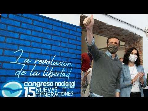 EN DIRECTO:Pablo Casado inaugura el XV Congreso Nacional de Nuevas Generaciones