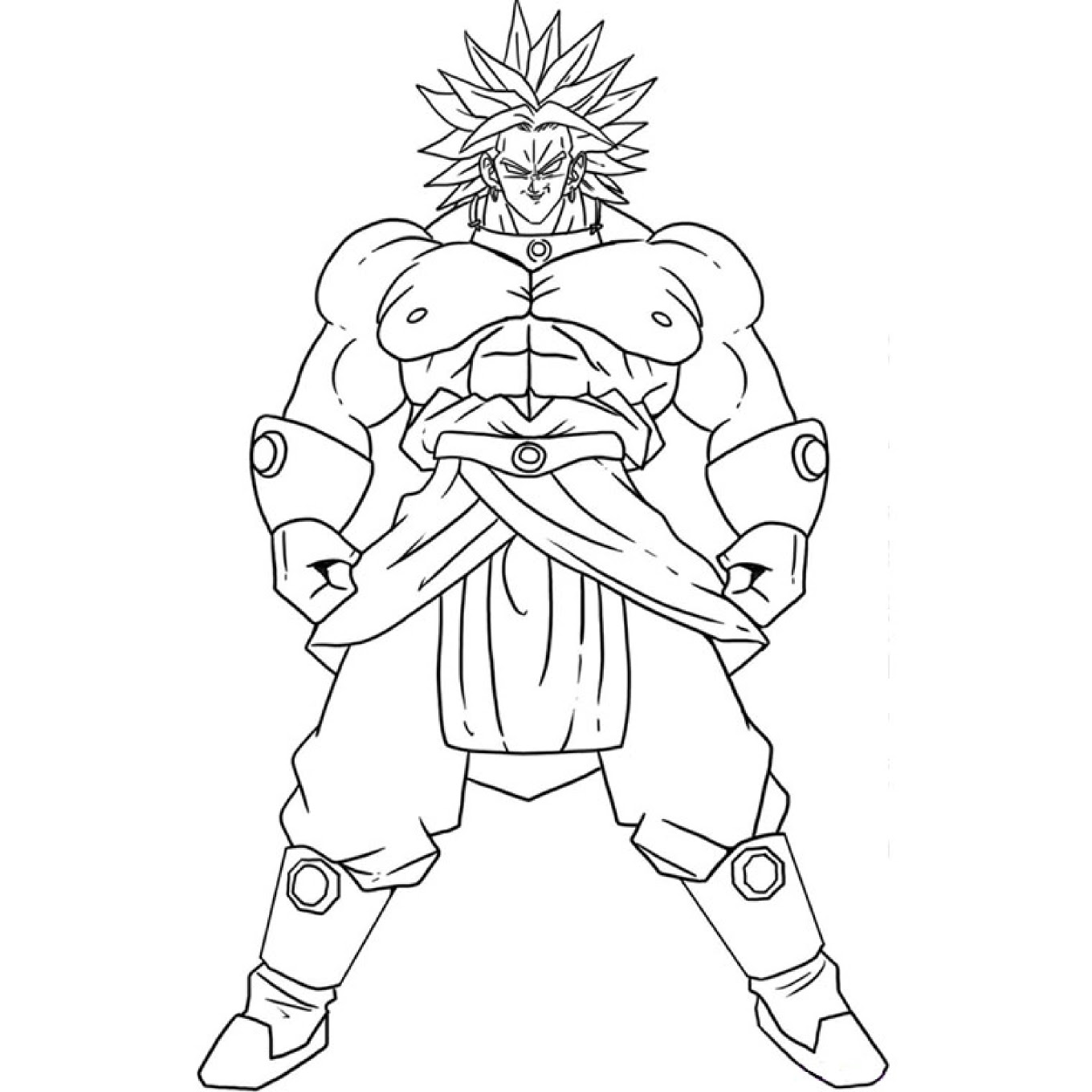 Dragon Ball Dessin Dragon Ball Super A Colorier