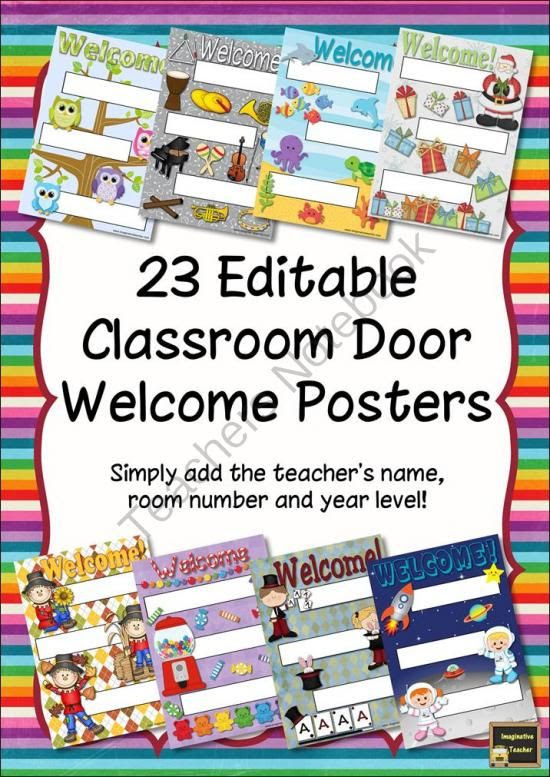 1000+ ideas about Welcome Sign Classroom on Pinterest | Classroom ...
