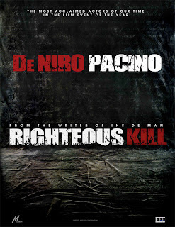 Righteous Kill, from the writer of Inside Man.