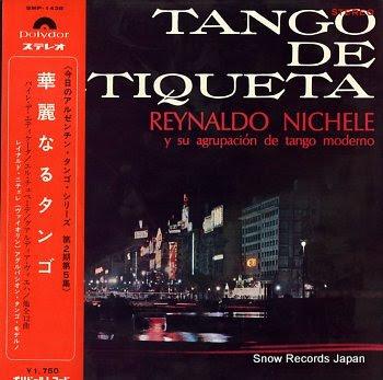 NICHELE, REYNALDO tango de etiqueta