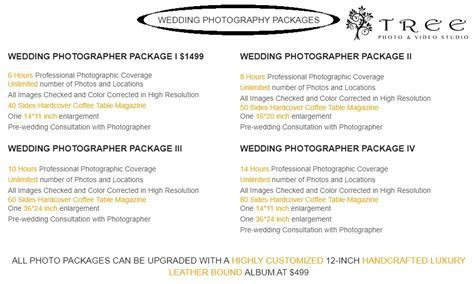 Wedding Photography Prices and Packages in Melbourne
