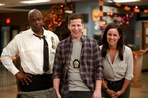 Captain Ray Holt (Andre Braugher), Jake Peralta (Andy Samberg) and Amy Santiago (Melissa Fumero) will be back on BROOKLYN NINE-NINE when it airs on NBC next season.