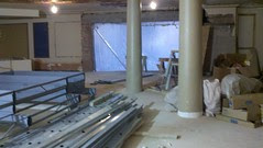 Interior Lobby of new Allen Theater