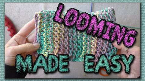 Free Round Loom Knitting Patterns For Beginners | Knitting ...