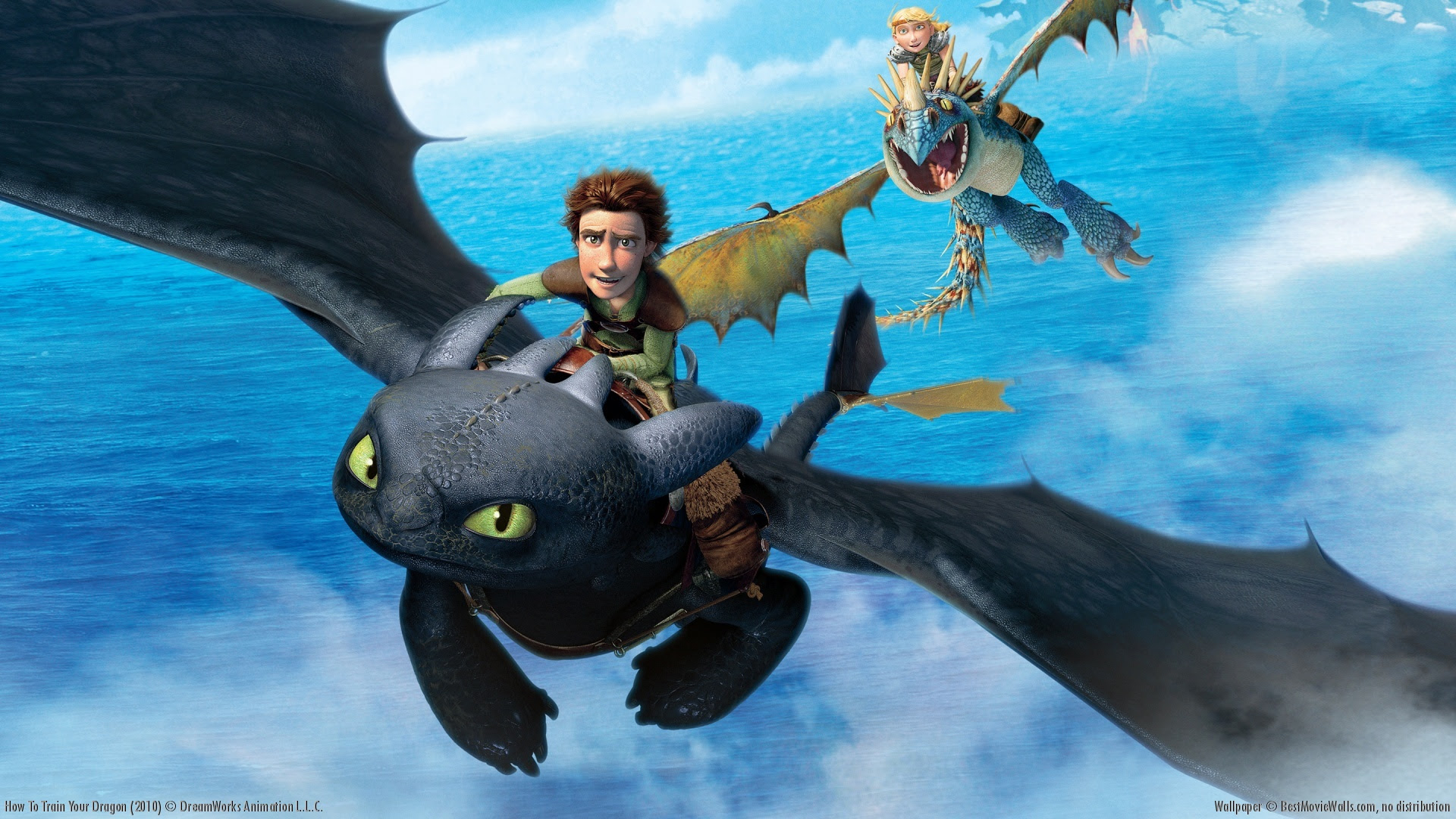 How To Train Your Dragon Wallpaper Film Animasi Wallpaper