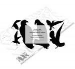 Birds Group of Silhouettes Yard Art Woodworking Pattern - fee plans from WoodworkersWorkshop® Online Store - birds,animals,wildlife,yard art,painting wood crafts,scrollsawing patterns,drawings,plywood,plywoodworking plans,woodworkers projects,workshop blueprints