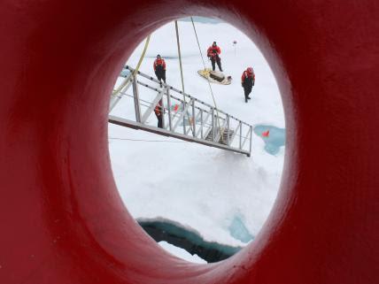 Standing on the Chukchi Sea