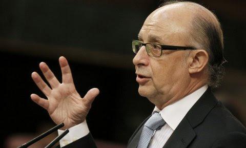 El ministro de Hacienda y Administraciones Públicas, Cristóbal Montoro. -EFE
