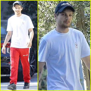 Louis Tomlinson Gets Patriotic While Spending July 4th in LA!