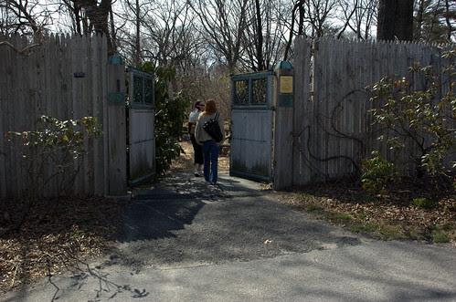 Entrance to the Native Flora Garden