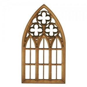 Window MDF Wood Shape - Style 3