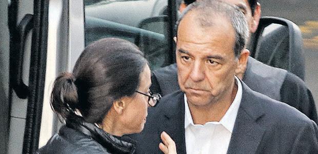 O ex-governador Sérgio cabral e a mulher, Adriana Ancelmo