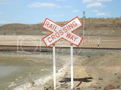 Africa Rail Crossing