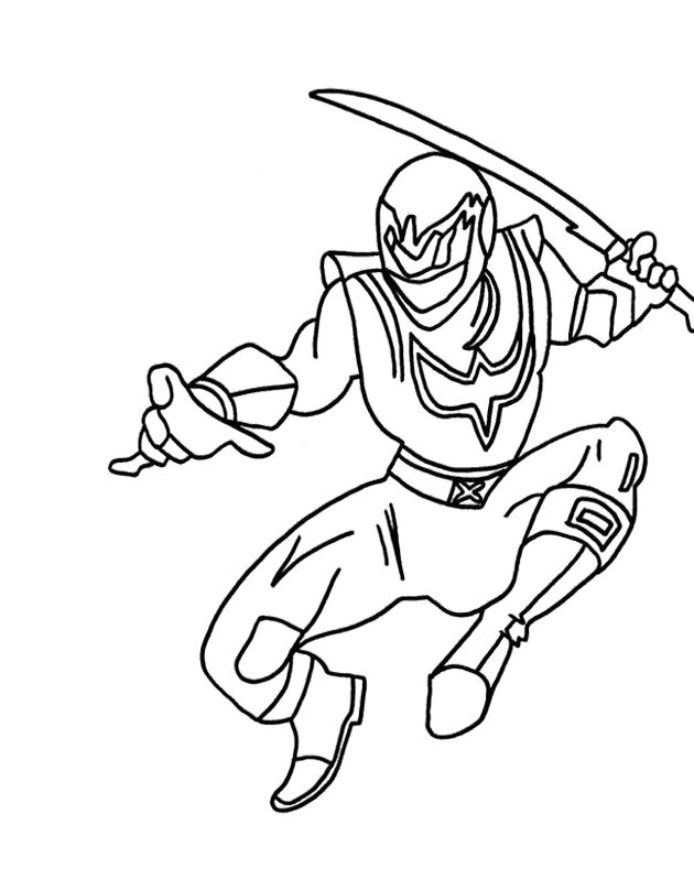 Power Rangers Spd Coloring Pages At Getdrawingscom Free For