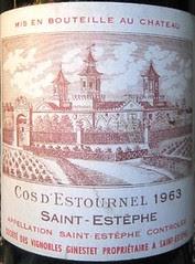 Vin Saint Estephe Exceptionnel Sommelier Du Restaurant