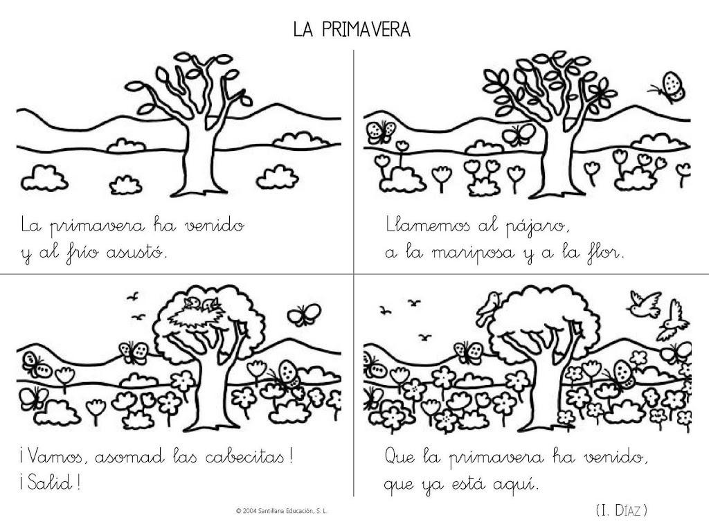 Poemas Y Rimas Infantiles De La Primavera