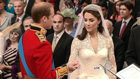 Prince William and Kate Middleton exchange vows   YouTube