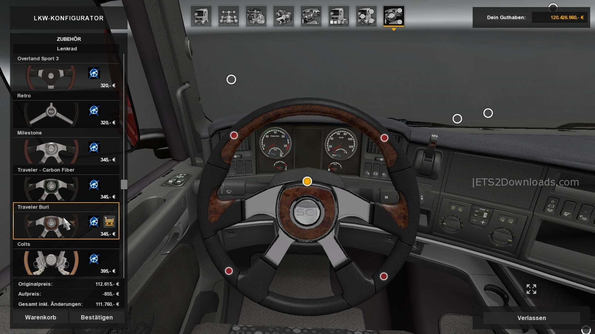 Steering Creations Pack Dlc From Ats Ets2 Mods