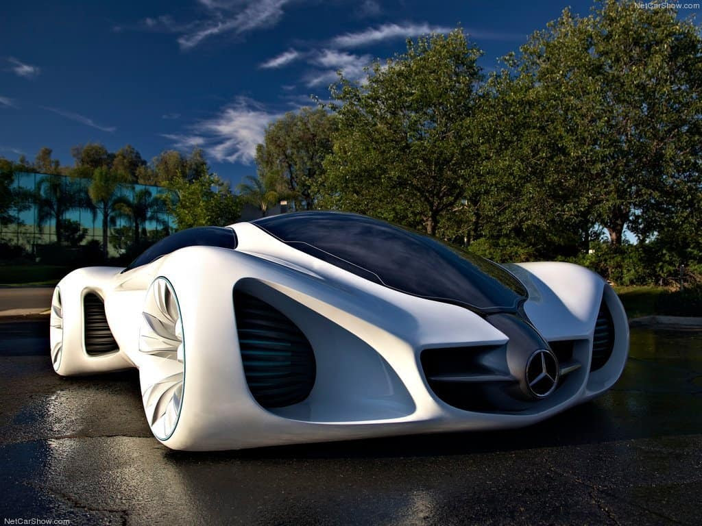 Mercedes Benz Biome Car - Eluxe Magazine