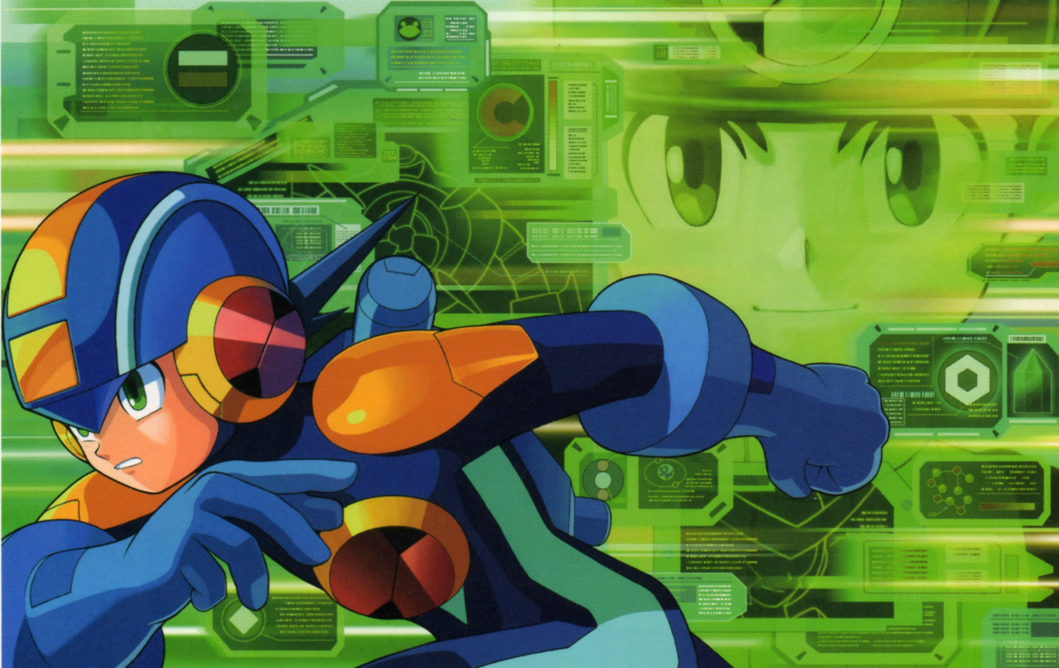 Watch a full playthrough of the lost-to-time Rockman.EXE: Phantom of Network screenshot