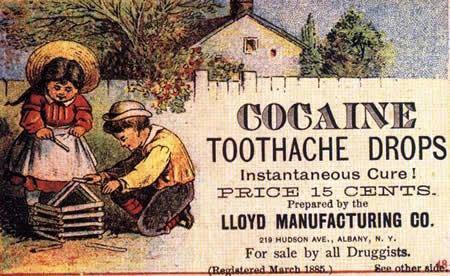 Quando as drogas eram legais