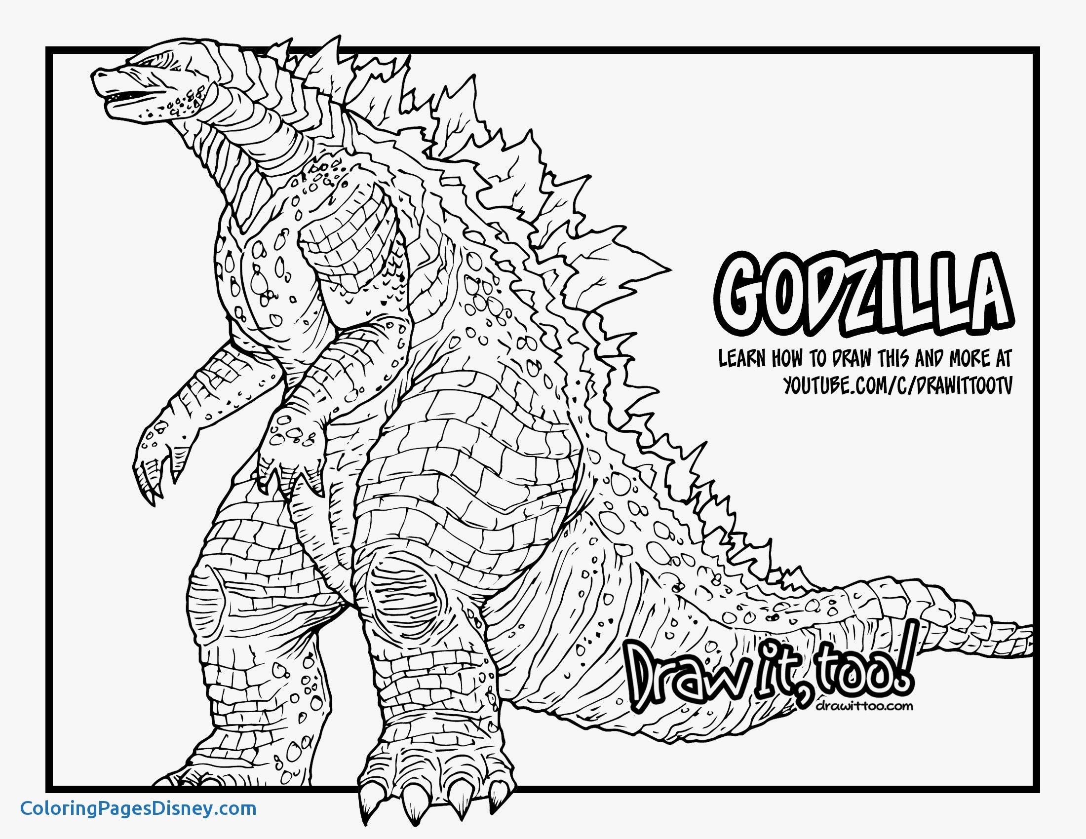 Shin Godzilla Coloring Pages Color Fun