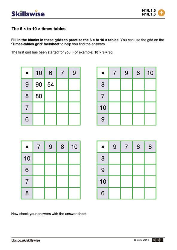 ma13tabl l1 w 6 to 10 times tables 592x838