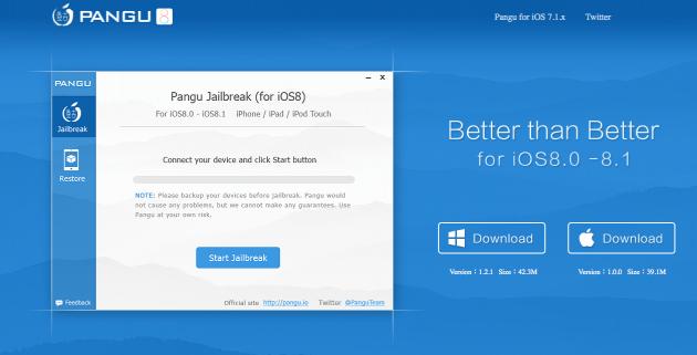 (Tuto) Jailbreak iOS 8 et 8.1 Pangu