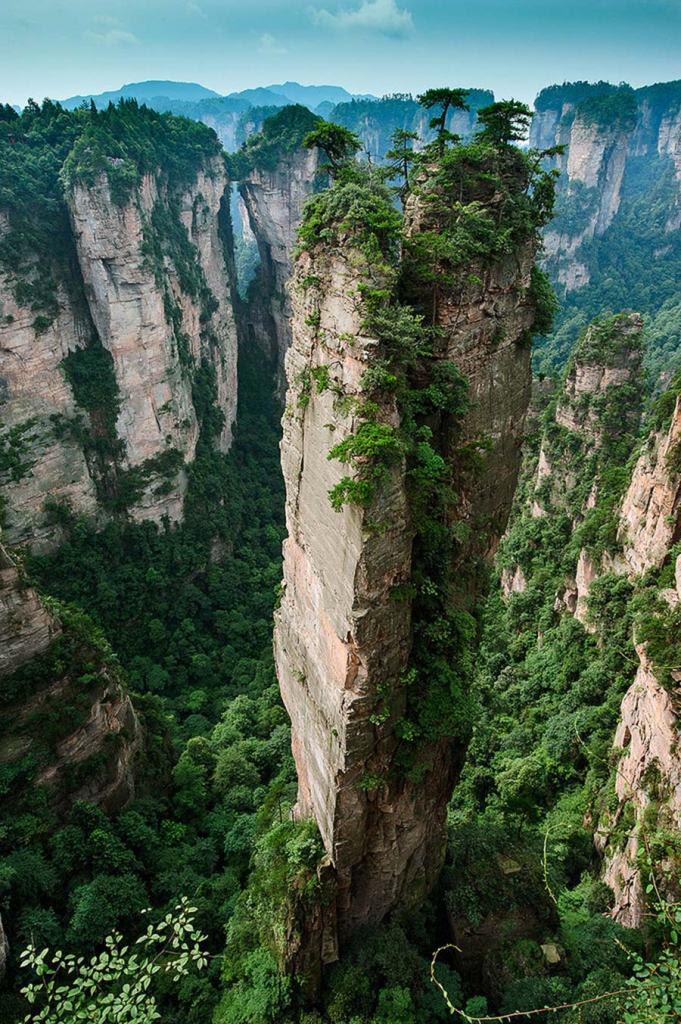 Split Pinnacle, Επαρχία Χουνάν, Κίνα