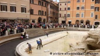 Τα αποθέματα πόσιμου νερού λιγοστεύουν μεταξύ άλλων και στη Ρώμη