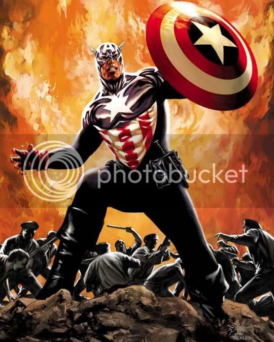 Captain America #35