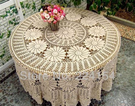 20 best images about Round crochet tablecloth on Pinterest
