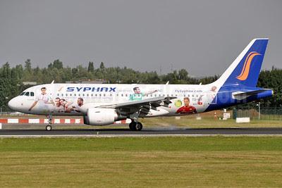 Syphax Airlines (FlySyphax.com) Airbus A319-112 TS-IEF (msn 3853) (Transporter officiel des aigles de Carthage) BRU (Karl Cornil). Image: 913452.
