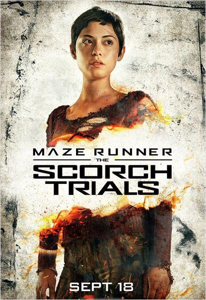 Maze Runner 2 - Die Auserwählten in der Brandwüste : Kinoposter