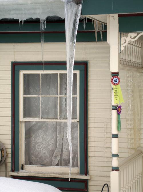 long icicle, Park City, Utah