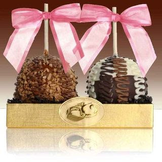 Fancy Chocolate Caramel Apple Duet
