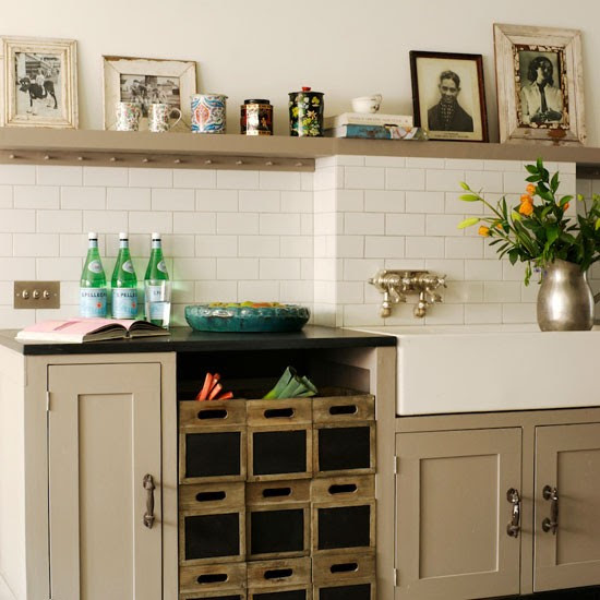Top Ten Vintage Kitchen Ideas over on Modern Country Style blog