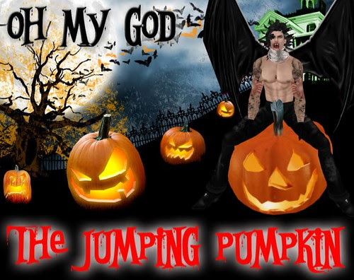 NOON The jumping pumpkin GIFT by mimi.juneau *Mimi's Choice*