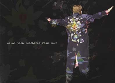 Elton John tour program 2005