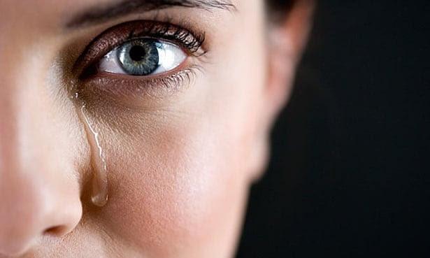 tears crying