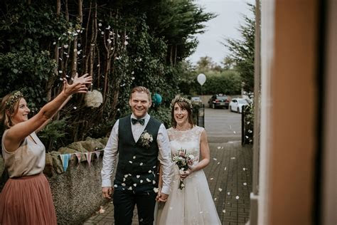 A Ceremony by the Sea for a Fuss Free Handmade Wedding