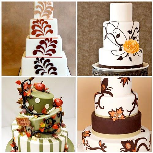 Fall Wedding Cake Ideas Dec 16th 2009 at 1633 PM