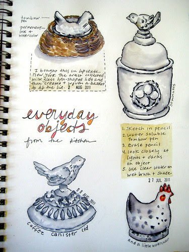 everyday objects kitchen page