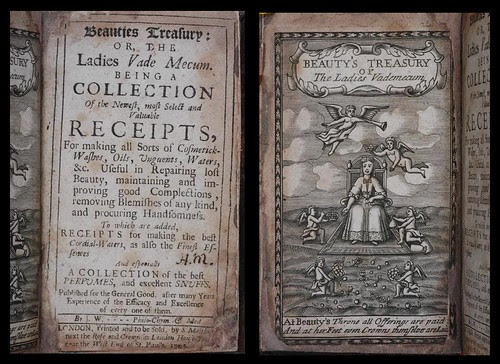 Beauties treasury, or, The ladies vade mecum 1705