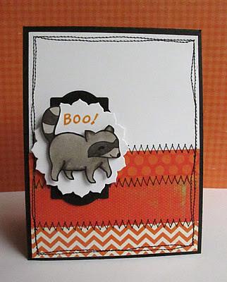 Wee Memories Halloween Card